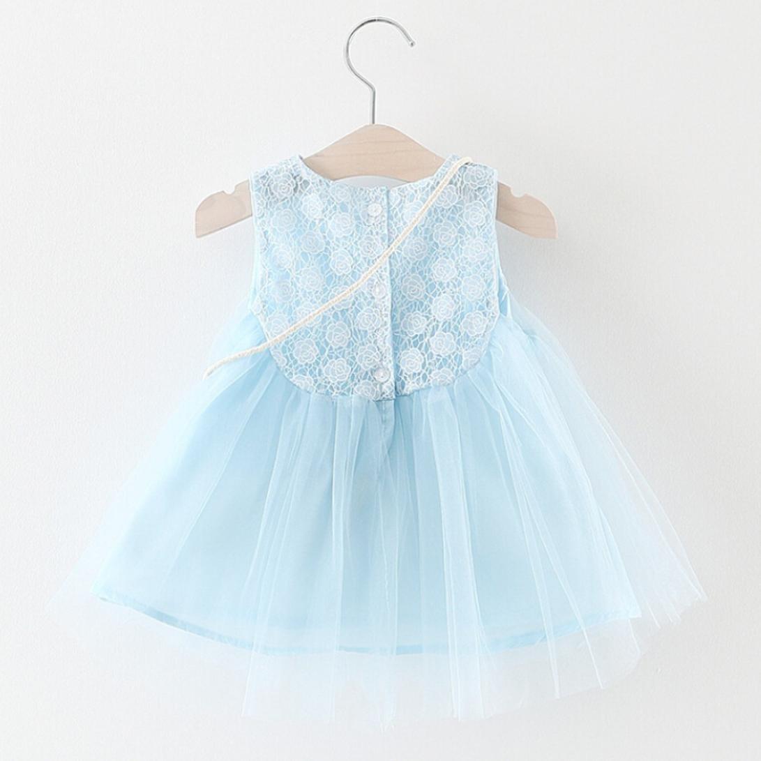 DRESS_start Vestido de Flores Boda Niña Vestido de Princesa Fiesta Infantil Elegante Bautizo Niña: Amazon.es: Ropa y accesorios