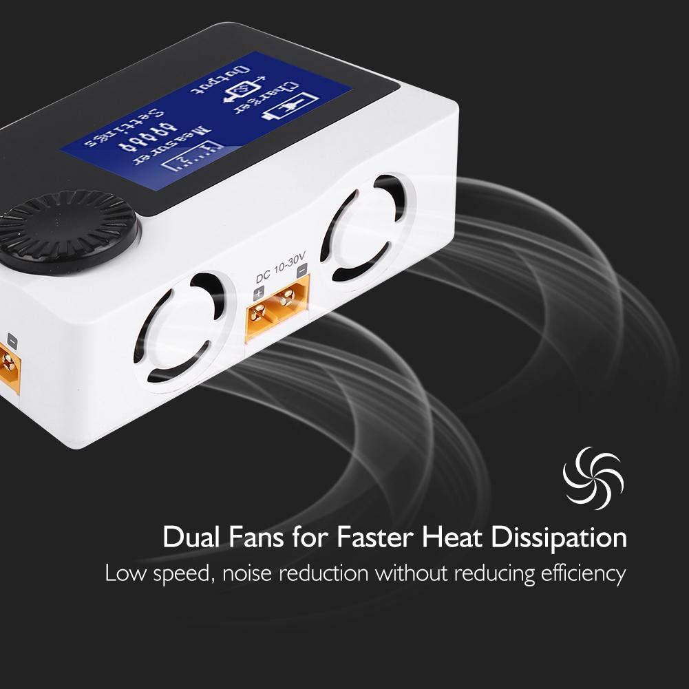 Dilwe Caricabatteria Multifunzionale B6 iToolkit SBUS PPM Caricatore Scaricatore 300W Supporta 8S Batteria LiPo Misura PWM