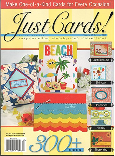 (Just Cards Magazine Summer 2018 )
