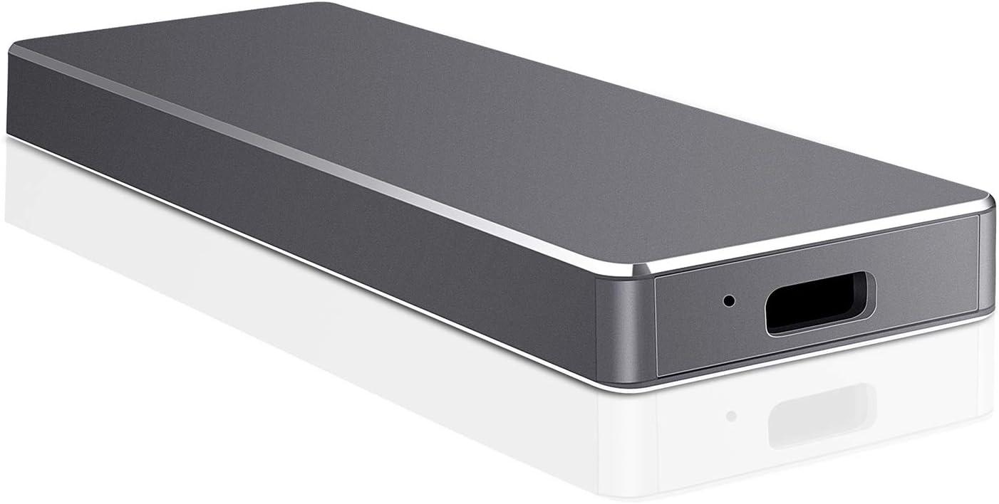Disco Duro Externo 1 TB, Disco Duro Externo USB-C para PC, Mac ...