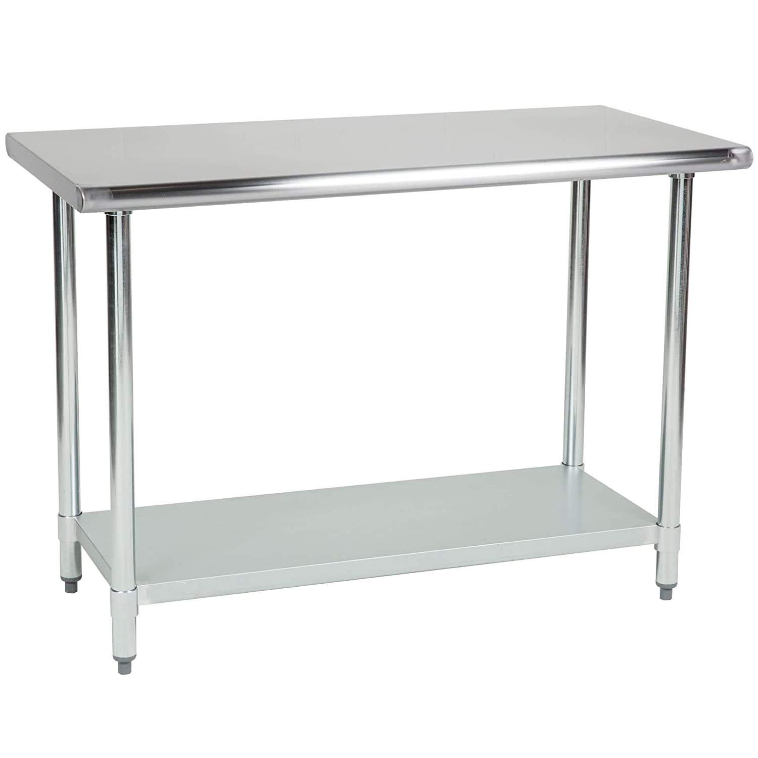 Stainless Steel Kitchen Food Prep Work Table 14 x 30 - NSF - Heavy Duty