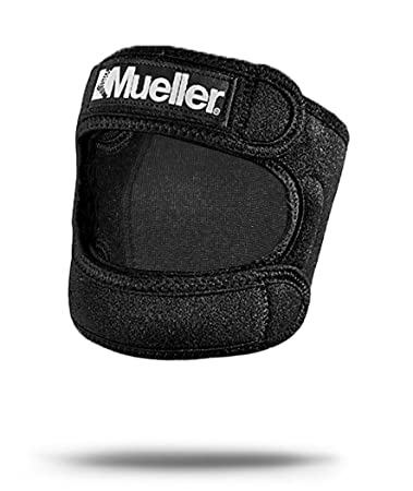 51862325ff Image Unavailable. Image not available for. Color: Mueller Max Knee Strap  One Size Adjustable ...