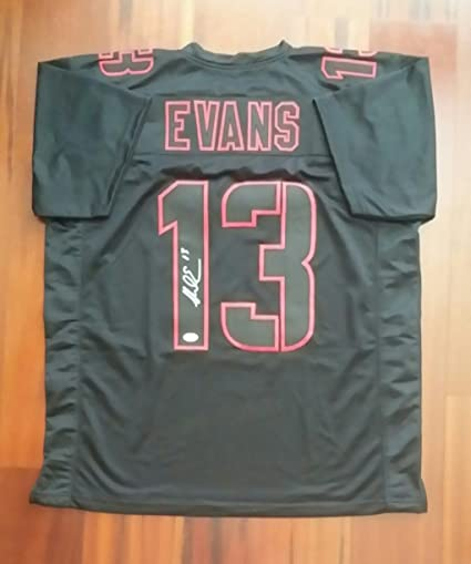 Image Unavailable. Image not available for. Color  Mike Evans Autographed Signed  Jersey Tampa Bay Buccaneers JSA 373150e26