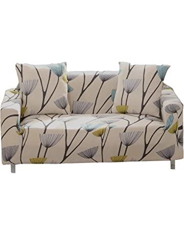 307f8a65a7b Sofa Slipcover Stretch Fabric Flower Bird Pattern Elastic Chair Loveseat  Couch Settee Sofa Covers 1-