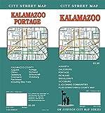 Kalamazoo Street Map, Michigan