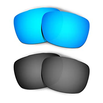 HKUCO Plus Mens Replacement Lenses For Oakley TwoFace Sunglasses Blue Polarized dPL24