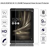 ASUS ZenPad 3S 10Inch z500m–Protector de pantalla de cristal templado Fiimi Protector de pantalla para Asus ZenPad 3S 10,9H dureza, 0,3mm de espesor, fabricado en cristal