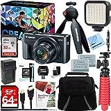 : Canon PowerShot G7 X Mark II 20.1MP 4.2x Optical Zoom Digital Camera Video Creator Kit + 64GB SDXC Memory Card + Accessory Bundle