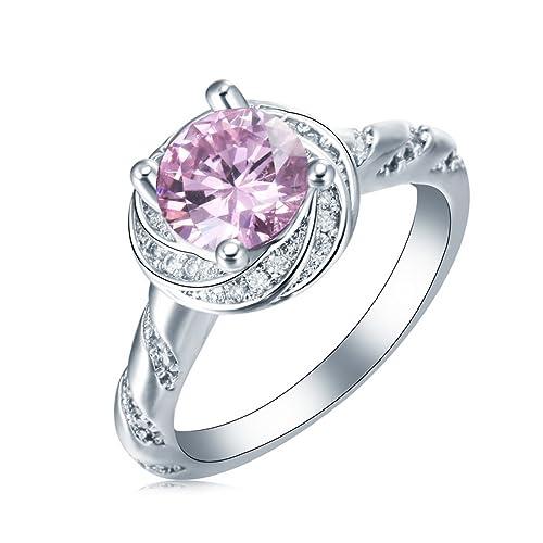 psezy Oval Sapphire anillos para las mujeres boda y anillo de compromiso ov377