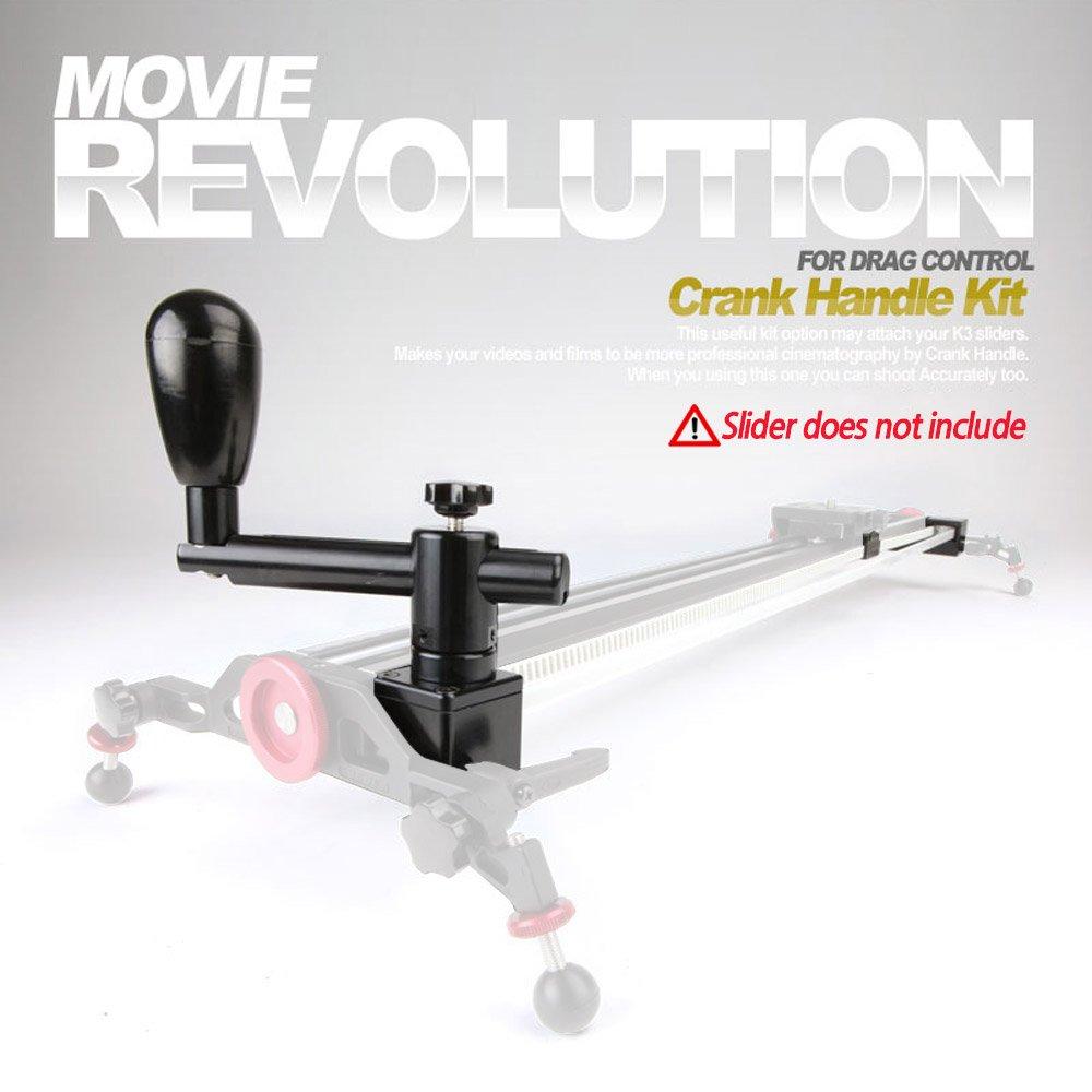 Konova Crank Handle Kit for K2-100cm (39.4inch) Slider / Kchk-2100