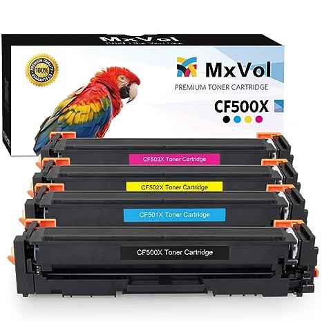 Amazon.com: MxVol - Cartucho de tóner compatible HP 202X ...