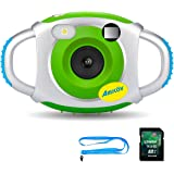 Kids Camera with 8G SD Card, AmkovElectronic Camera for Kids, Children Creative Digital Camera, 5Mp1.44 Inch TFT Display Video Recording