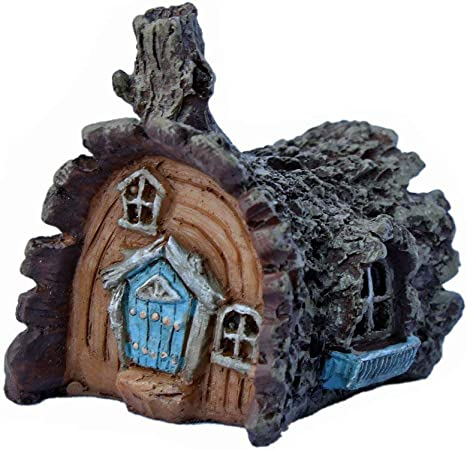 Miniature fairy garden micro mushroom house Fiddlehead