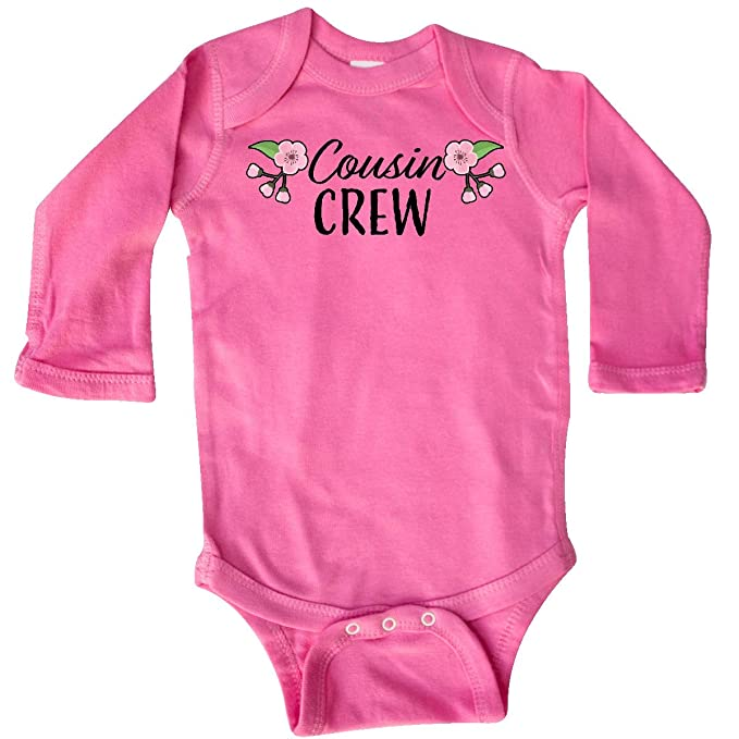 inktastic Cousin Crew with Cherry Blossom Flowers Toddler T-Shirt