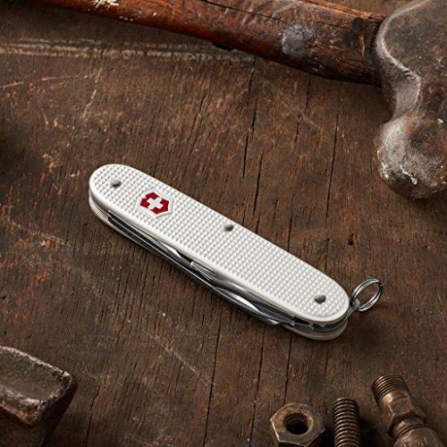Victorinox Swiss Army Pioneer Pocket Knife,Silver Alox,One Size by Victorinox (Image #3)