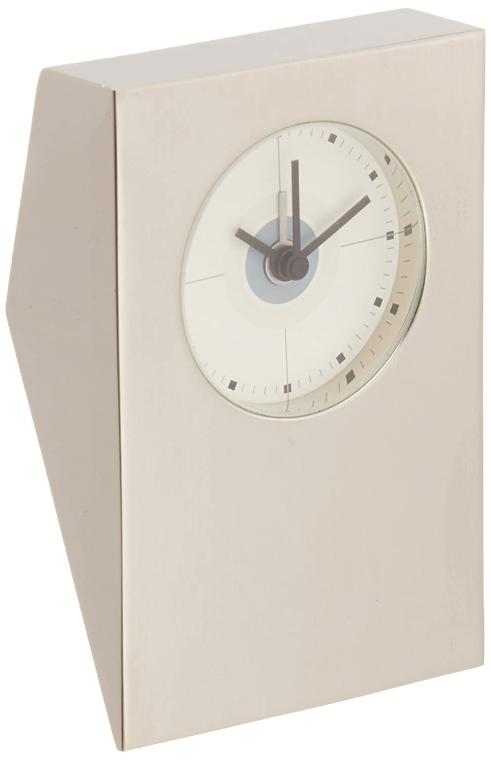 201e7c4a7 Amazon.com  Visol Tracker Brushed Nickel Desk Clock  Home   Kitchen