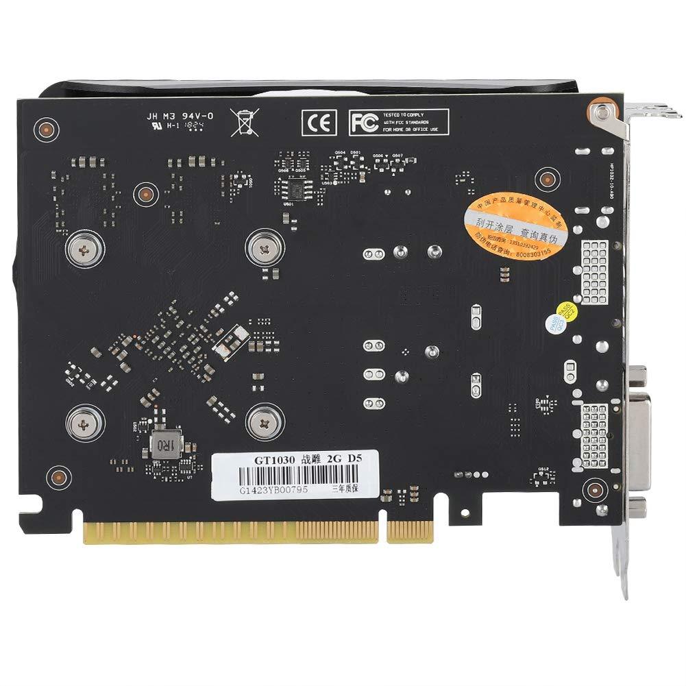 Amazon.com: Tarjeta gráfica GDDR5 de 2 GB, 6008 MHz, 64 bits ...