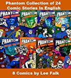 Phantom Series: Collection of 8 Comics 24 Stories, By Lee Falk, Made In India, Old and Nostalgic, New Print Comic Books