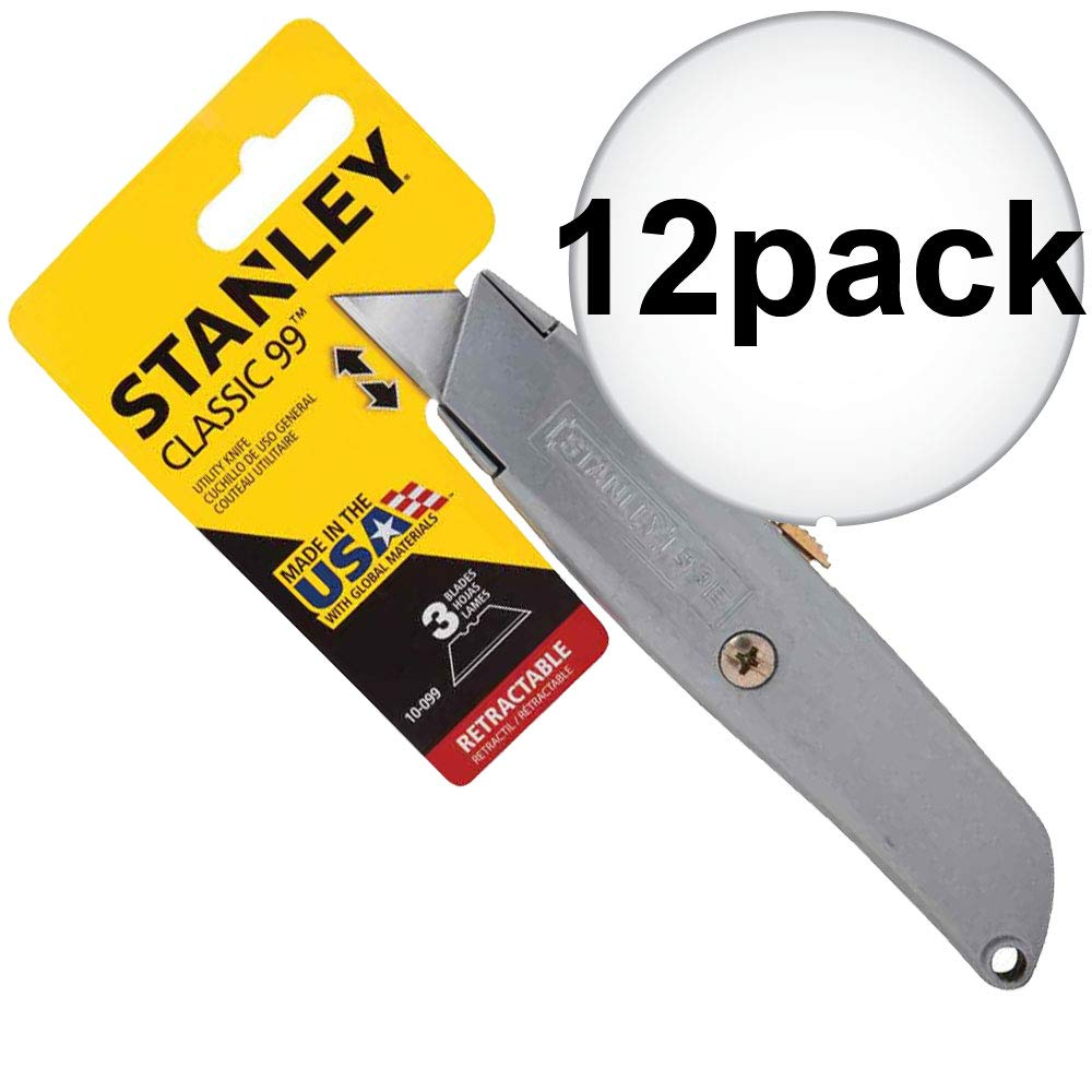 Stanley Hand Tools 10-099 Retractable Blade Utility Knife