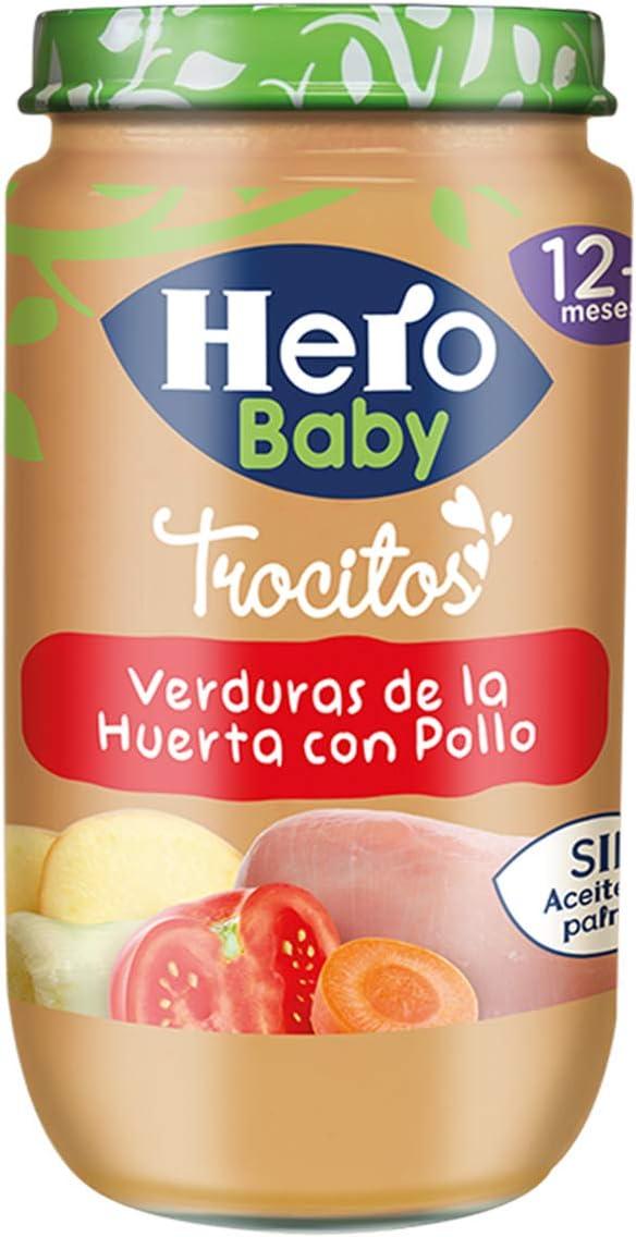 Hero Baby - Verduras De La Huerta Con Pollo 235 gr - Pack de 4 (Total 940 grams): Amazon.es: Alimentación y bebidas