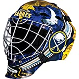 Franklin Sports Buffalo Sabres Goalie Mask - Team Graphic Goalie Face Mask - GFM1500 Only for Ball & Street - NHL Official Licensed Product