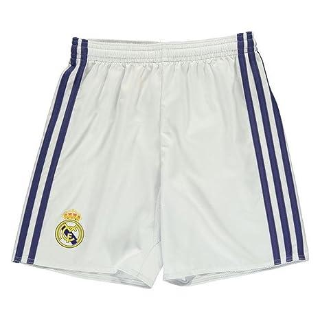 Adidas Pantalones Real Kit 7 Fc Junior 8 Home Cortos Fútbol Madrid cJF1TlK