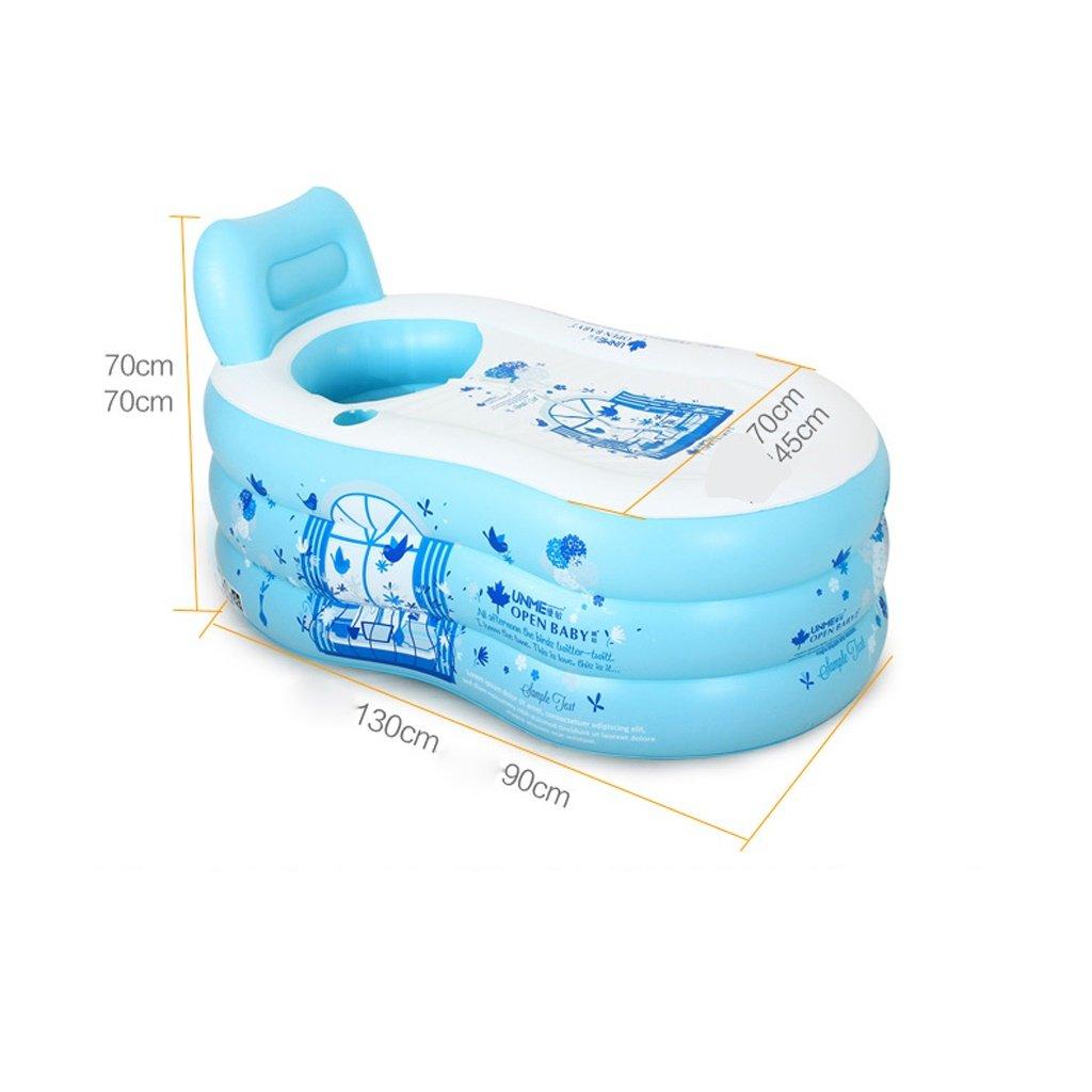 Inflatable bathtub Inflated Bathtub Adult Home Bathing Bath Barrels ...