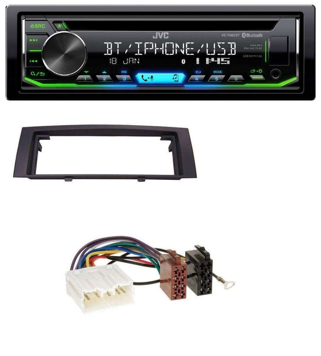 caraudio24 JVC KD-R992BT Bluetooth MP3 CD Aux USB Autoradio fü r Mitsubishi Colt (2004-2008)