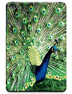 Peafowl Spead Tail Feathers Bird New style design cell phone cases for Apple Accessories iPadmini iPad Mini