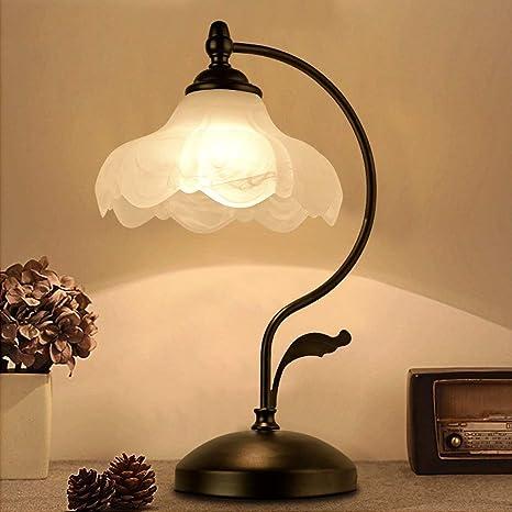 Hotel Retro lámpara de Mesa Dormitorio lámpara de cabecera ...