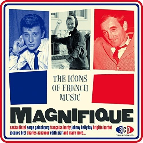 VA - Magnifique The Icons Of French Music - FR - 3CD - FLAC - 2016 - NBFLAC Download