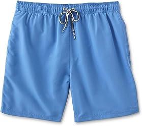 1b9a9defc58c2f BASIC EDITIONS Men's Swim Trunks Size L Palace Blue