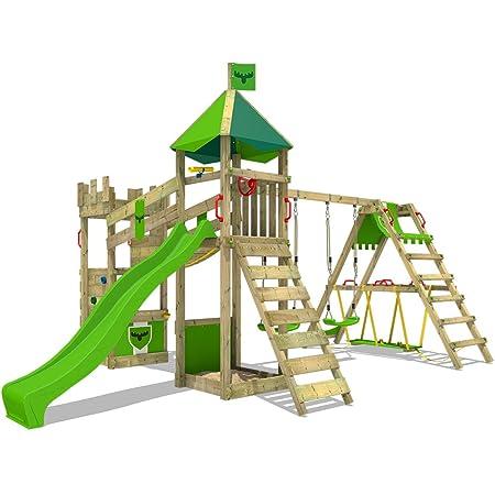 Bridge equipment play swinging