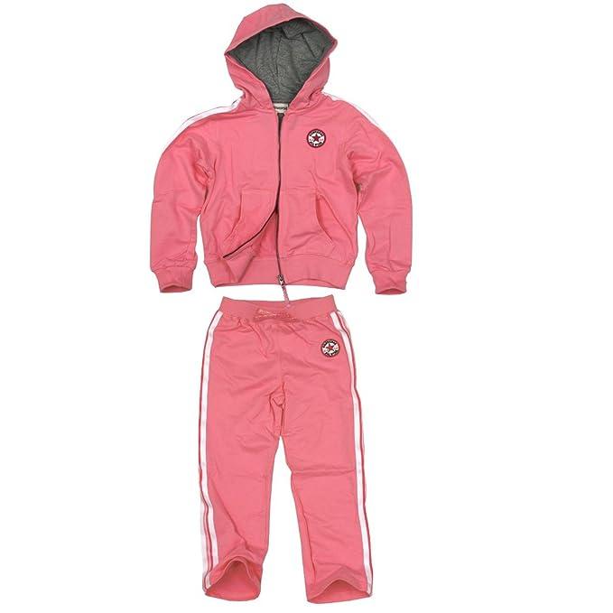 Converse Baby Kinder Trainingsanzug Chuck Patch Zip Set pink