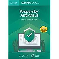 Kaspersky Anti Virus 2019 | 1 Dispositivo | 1 Anno