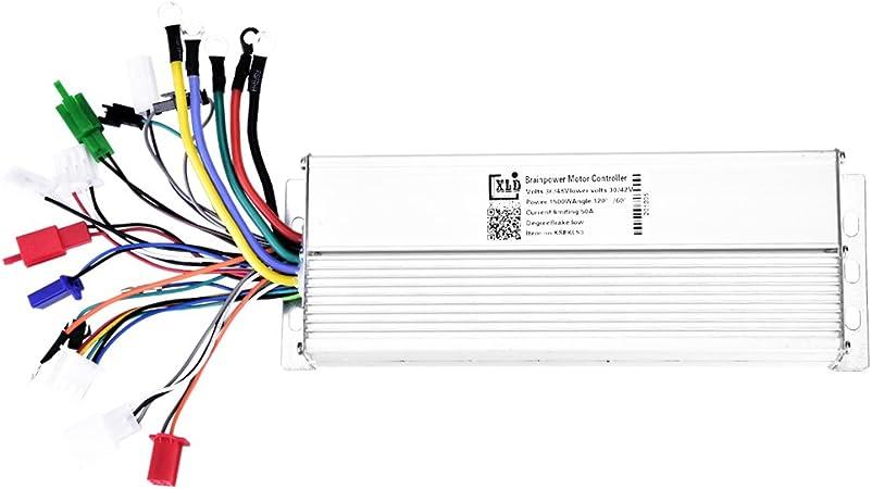 Alomejor Controlador De Motor El/éctrico 350w De Velocidad Sin Escobillas para Bicicleta El/éctrica