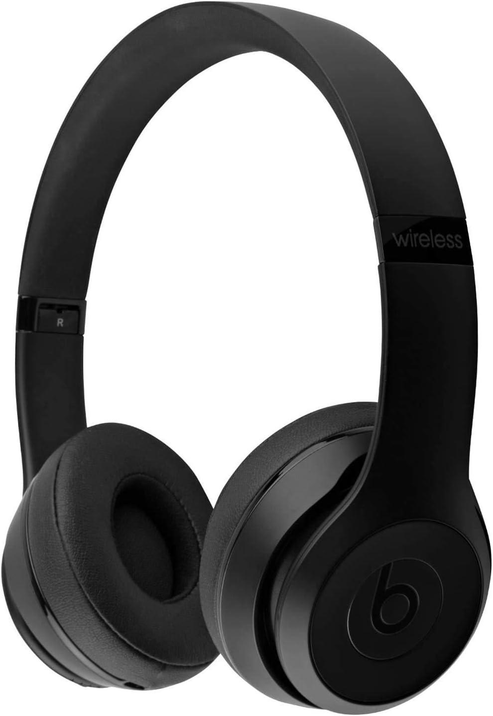 Beats by Dr. Dre - Beats Solo3 Wireless On-Ear Headphones - Black (Renewed): Electronics
