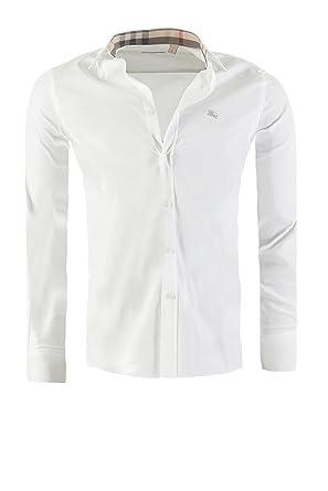 5d10ed17eec561 BURBERRY BRIT messieurs chemise cintrée, dans des couleurs différentes