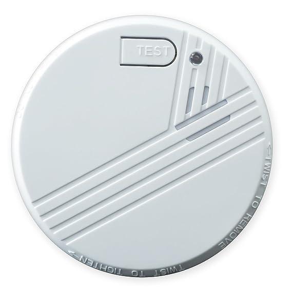 Nemaxx FL2 - Detector de humo según la norma DIN 14604 es y NX1 soporte magnético para detector de humo, 10FL2NX1: Amazon.es: Bricolaje y herramientas