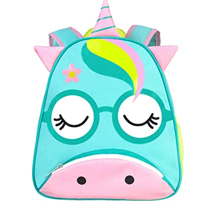 "Toddler Backpack, 12"" Unicorn Preschool Girls bag: Baby"