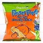 Case of 8 x Organix Carrot Sticks (20...