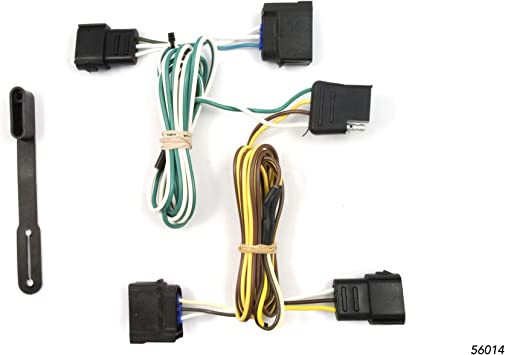Amazon.com: CURT 56014 Vehicle-Side Custom 4-Pin Trailer Wiring Harness for  Select Chevrolet Corvette, Ford Ranger, Ford Focus: AutomotiveAmazon.com