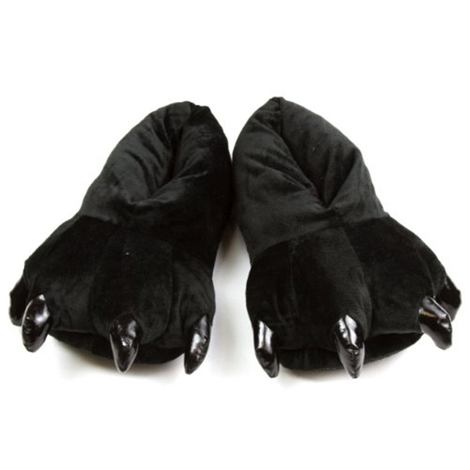 9799750272a24 FashionFits Unisex Soft Plush Home Slippers Animal Costume Paw Claw Shoes