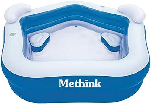 Methink Family Inflatable Lounge Pool 7 x 6 9 x 27