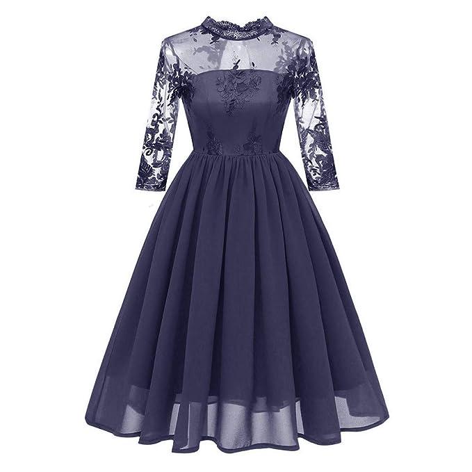 Vestidos de Fiesta Mujer, ❤ Zolimx Faldas Cortas Mujer Verano Tallas Grandes Cóctel de