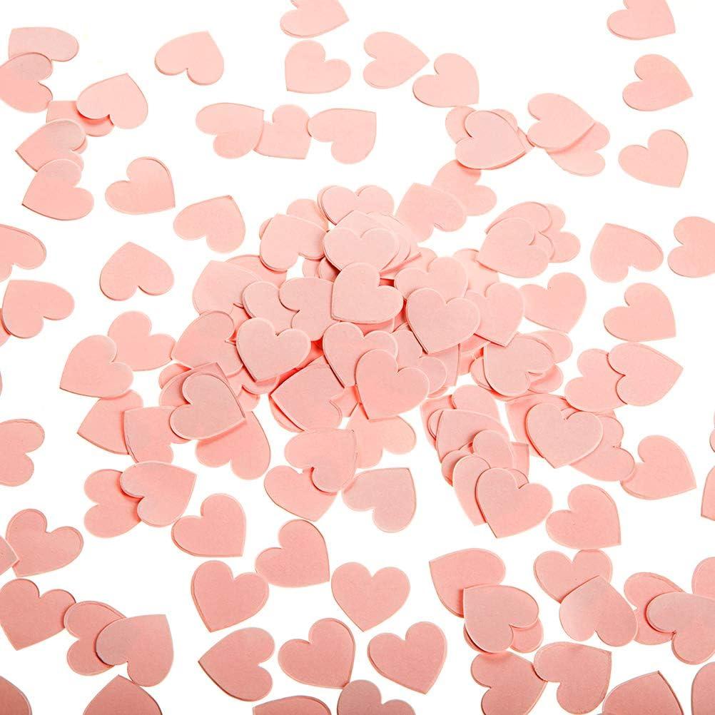 Valentine/'s Confetti Little Sweetheart 50 Valentine Heart Confetti Red Pink /& White Sweetheart 1st Birthday Valentine Table Decorations