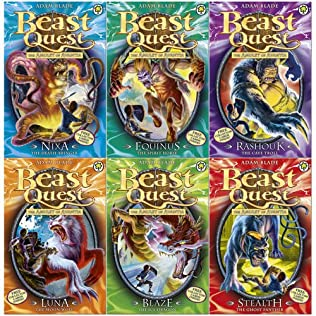 book cover of Beast Quest Series 4