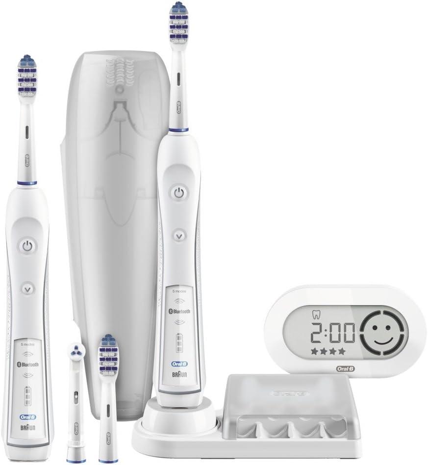 Oral-B TriZone 6500 Pack de 2 Cepillos de Dientes, Eléctricos de ...
