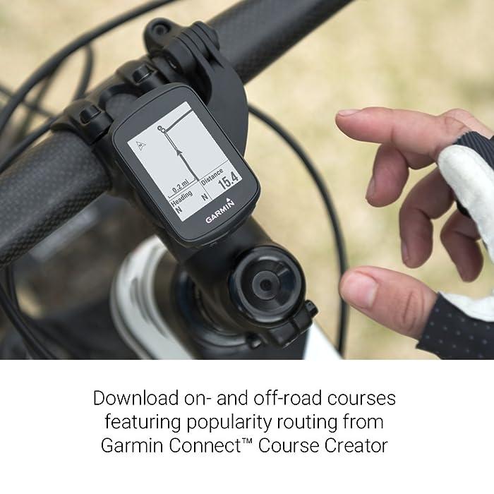 Garmin Edge 130, Compact and Easy-to-use GPS Cycling/Bike Computer