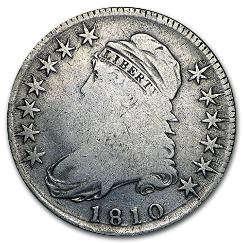 1810 Capped Bust Half Dollar Fine Half Dollar Fine